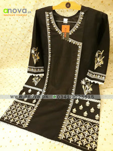 Premium Quality Summer Cotton Embroidered Women Shirt Article KKC-20027