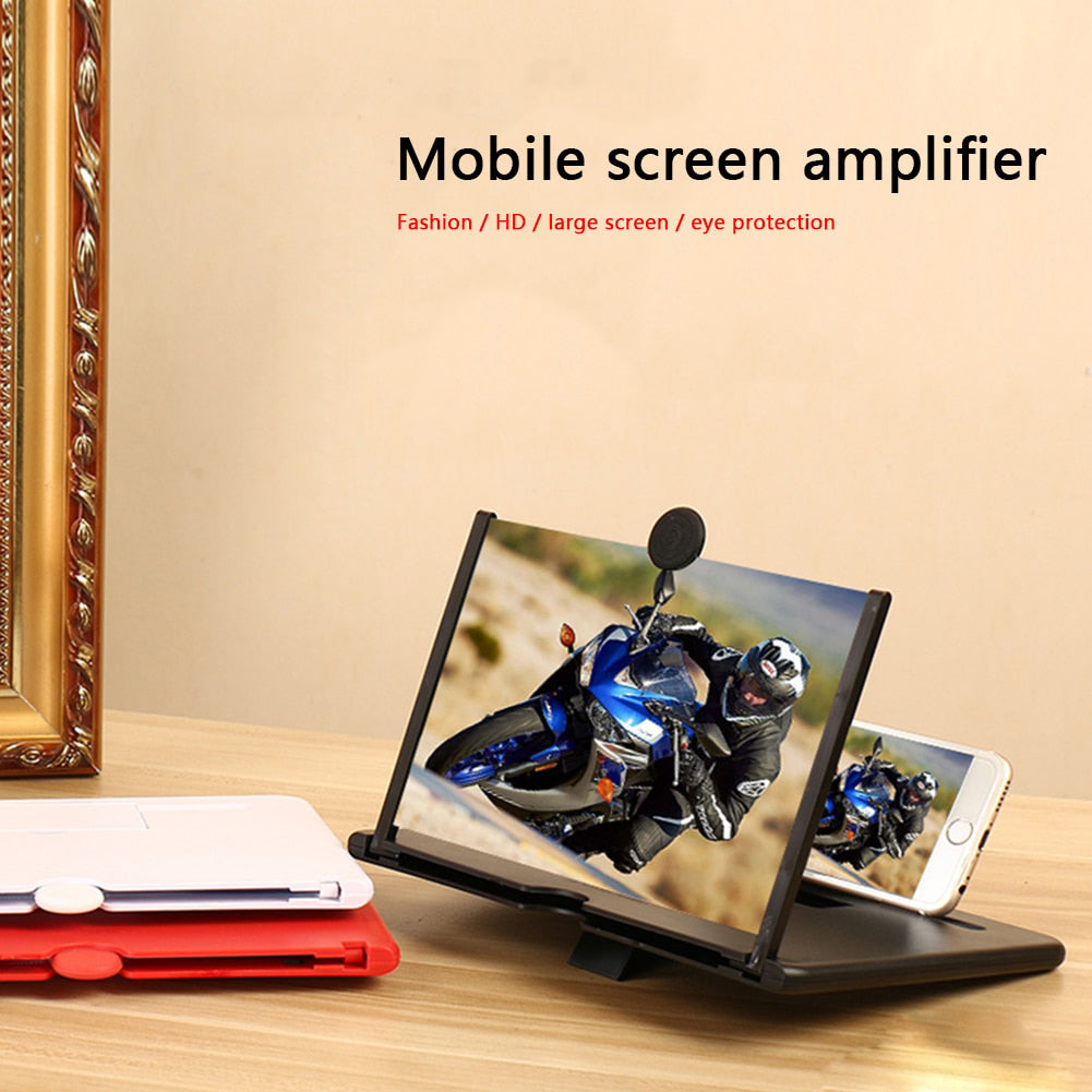 Portable Mobile Phone Screen Magnifier
