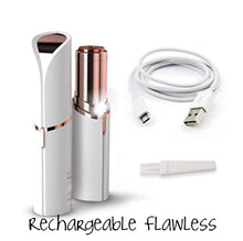 Load image into Gallery viewer, Original Rechargeable Flawless Facial Hair Remover