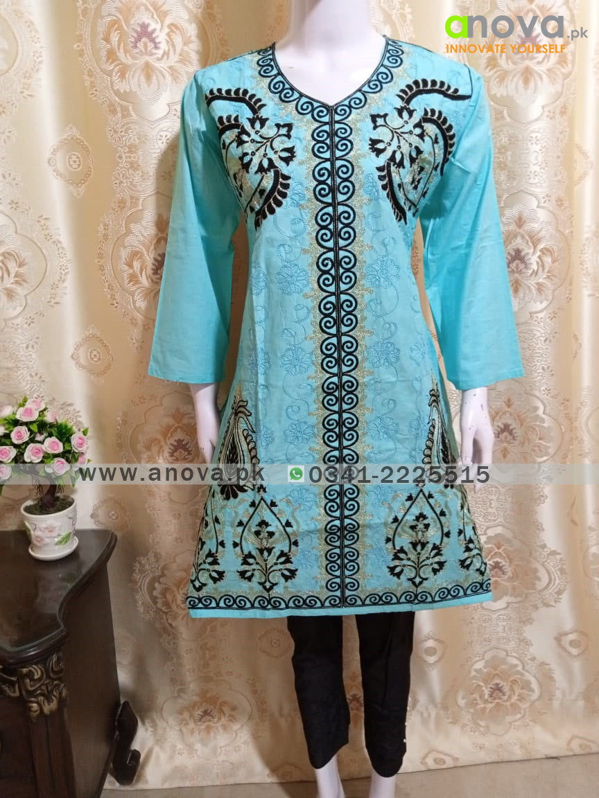 Fancy Embroided Three Piece Suit Article CST-4011