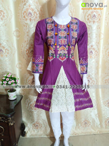 Fancy Embroided Three Piece Suit Article CST-4005
