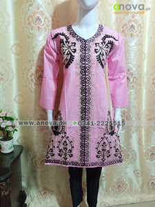 Fancy Embroided Three Piece Suit Article CST-4010