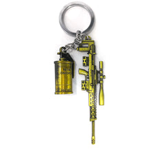 Load image into Gallery viewer, Sniper with M-18 Grande PUBG Keychain