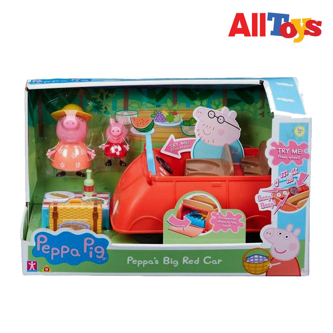 AllToys-6921 PEPPA PIG BIG RED CAR