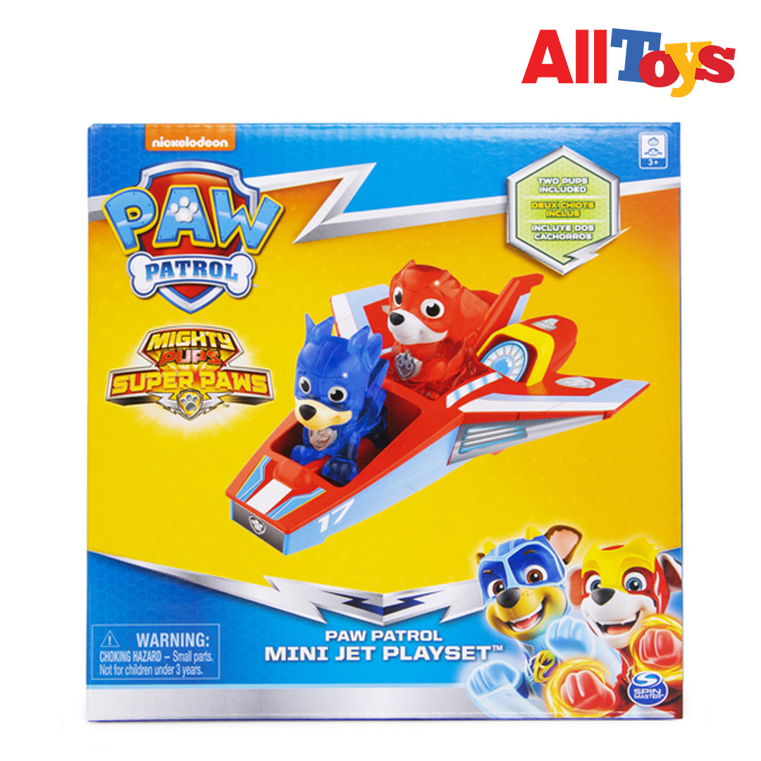 AllToys- PAW PATROL MINI JET PLAYSET