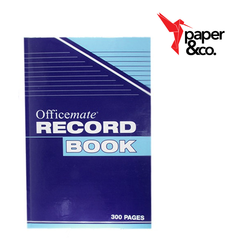 Paper&Co. - Officemate Record Book 300 pages