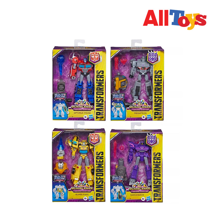 AllToys - Transformers Cyberverse Adventures Deluxe