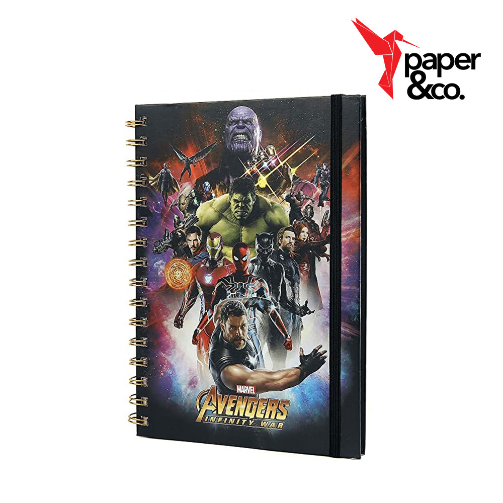 Paper&Co. - Marvel's Avengers: Infinity War Space Montage Holographic A5 Notebook