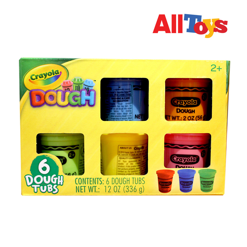 Paper&Co. - Crayola 6-pack 2oz Dough