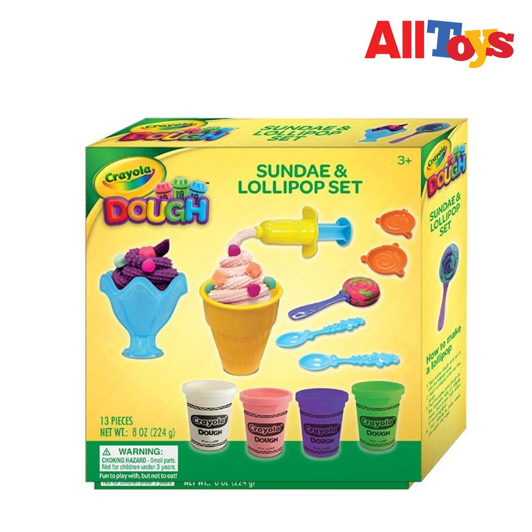 Crayola Sundae & Lollipop Set