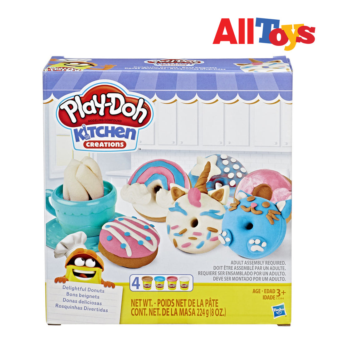 Play-Doh Kitchen Creations Delightful Donuts Pack