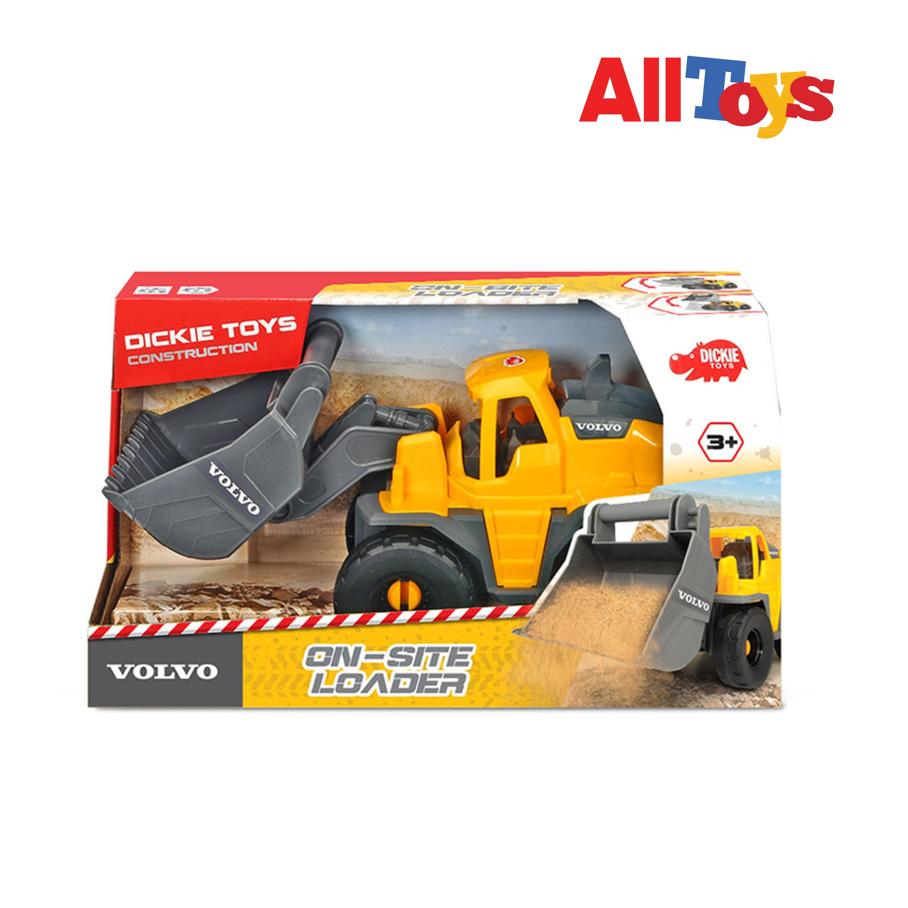 AllToys - Dickie Toys Volvo Wheel Loader