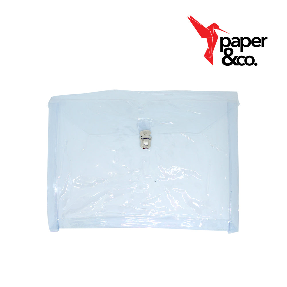 Paper&Co. - Plastic Expanding Envelop with Push Lock