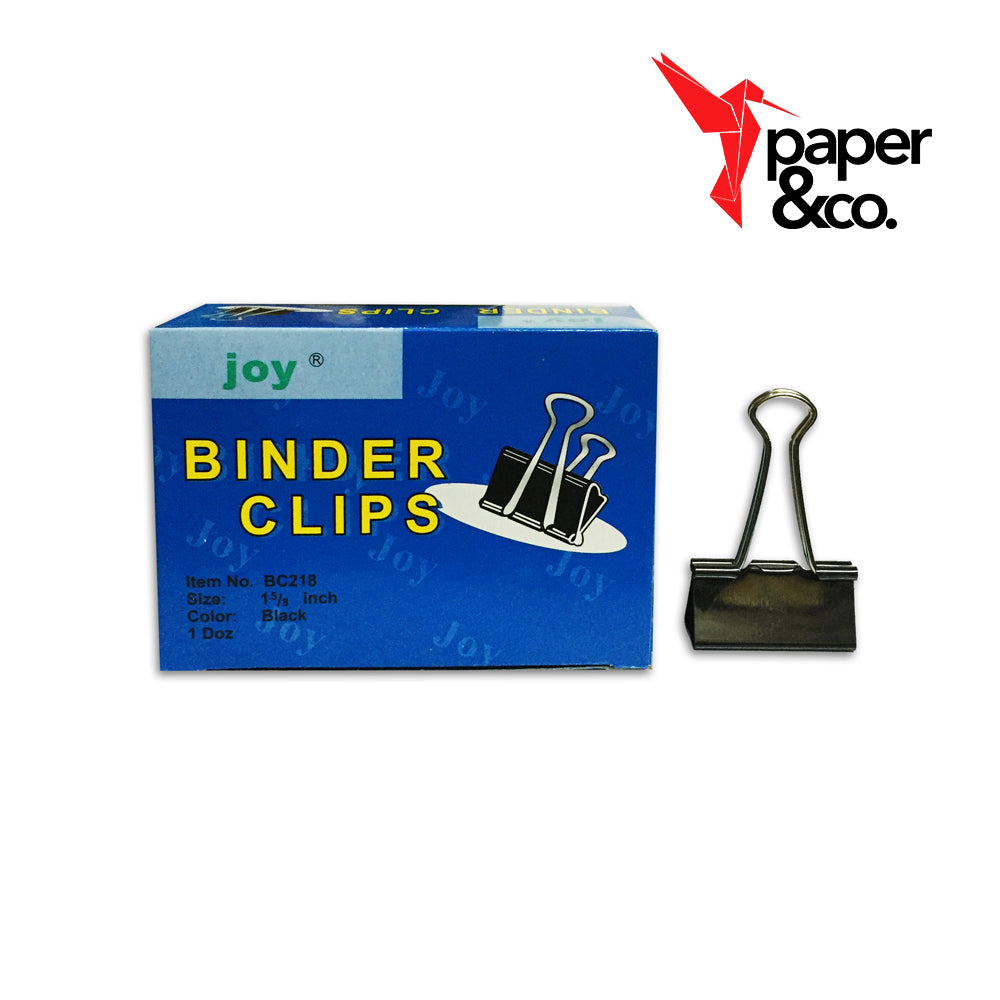 "Paper&Co. - Joy 1 5/8"" Binder Clips"