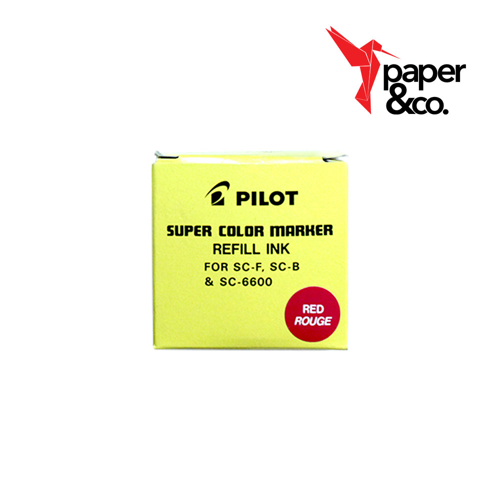 Paper&Co - Pilot Ink Red