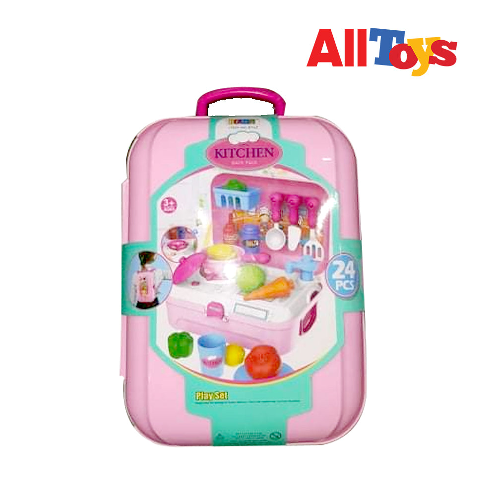 Kitchen Playset Backpack