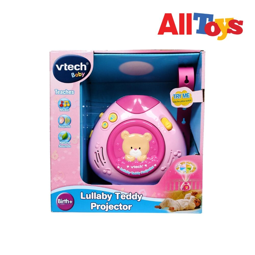 AllToys - VTech Lullaby Teddy Projector (Pink)
