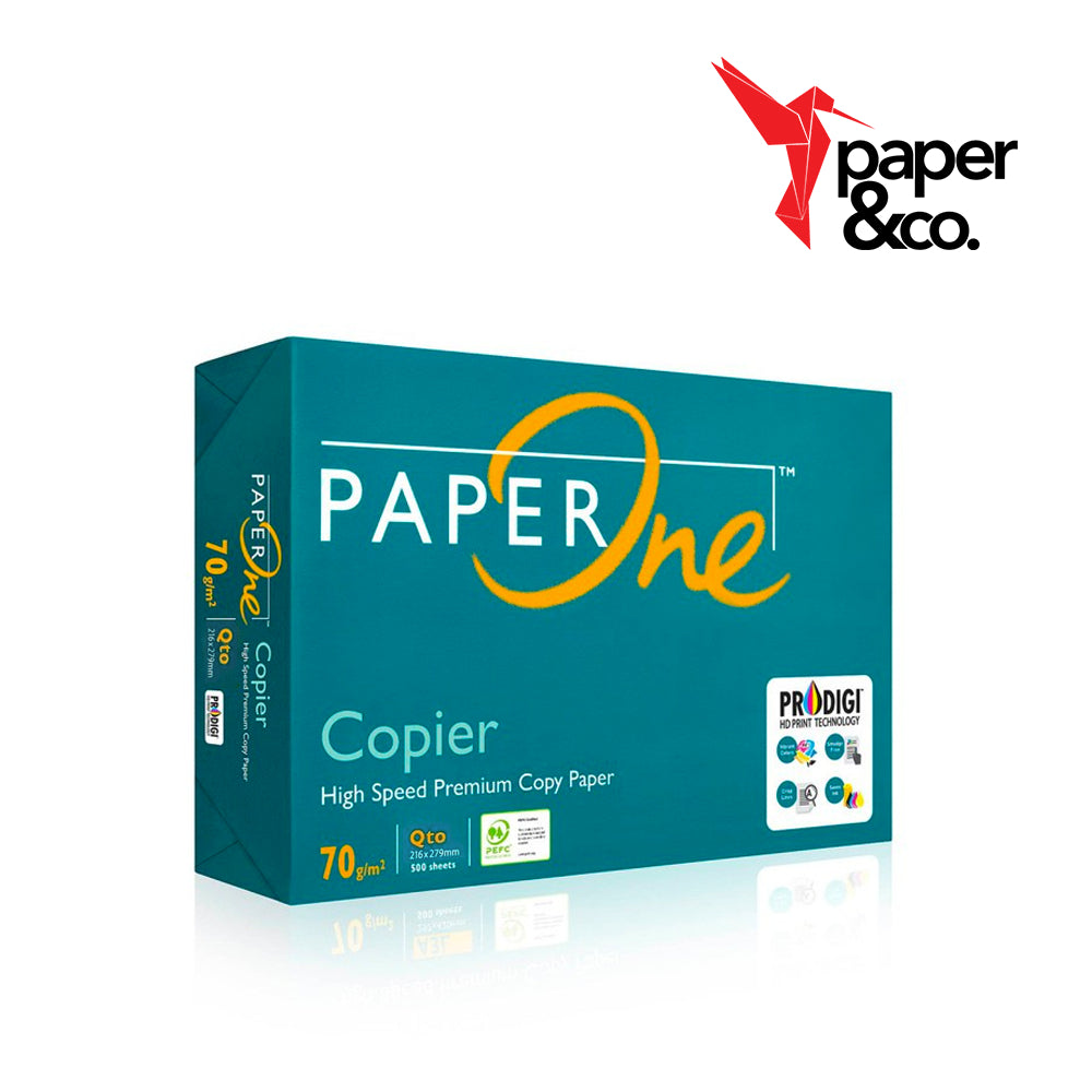 Paper&Co. - PaperOne Copier 70gsm Qto/Short