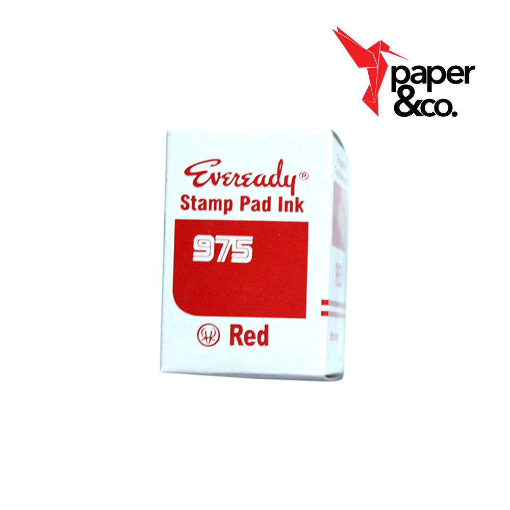 Paper&Co - Stamp Pad Red