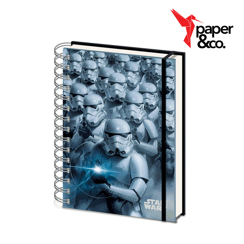 Paper&Co. - Star Wars Storm Troopers 3D Cover A5 Wiro Notebook
