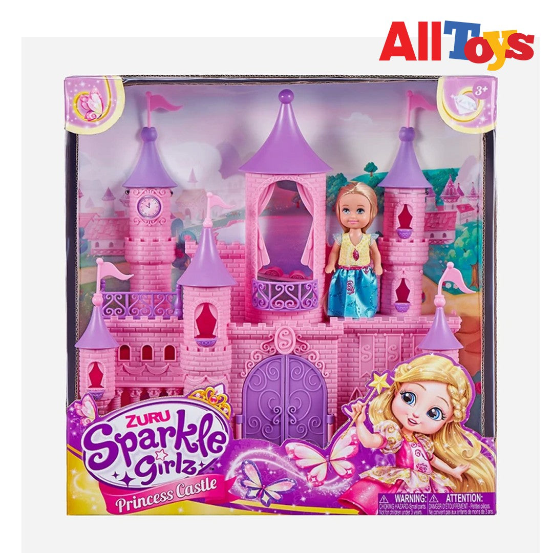 Sparkle Girlz Little World Fantasy Castle Play Set