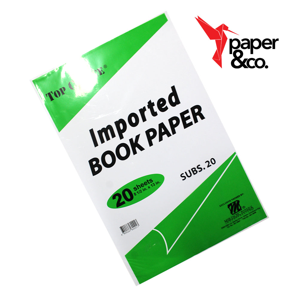 PAper&Co - Book Paper  Long 20 sheets