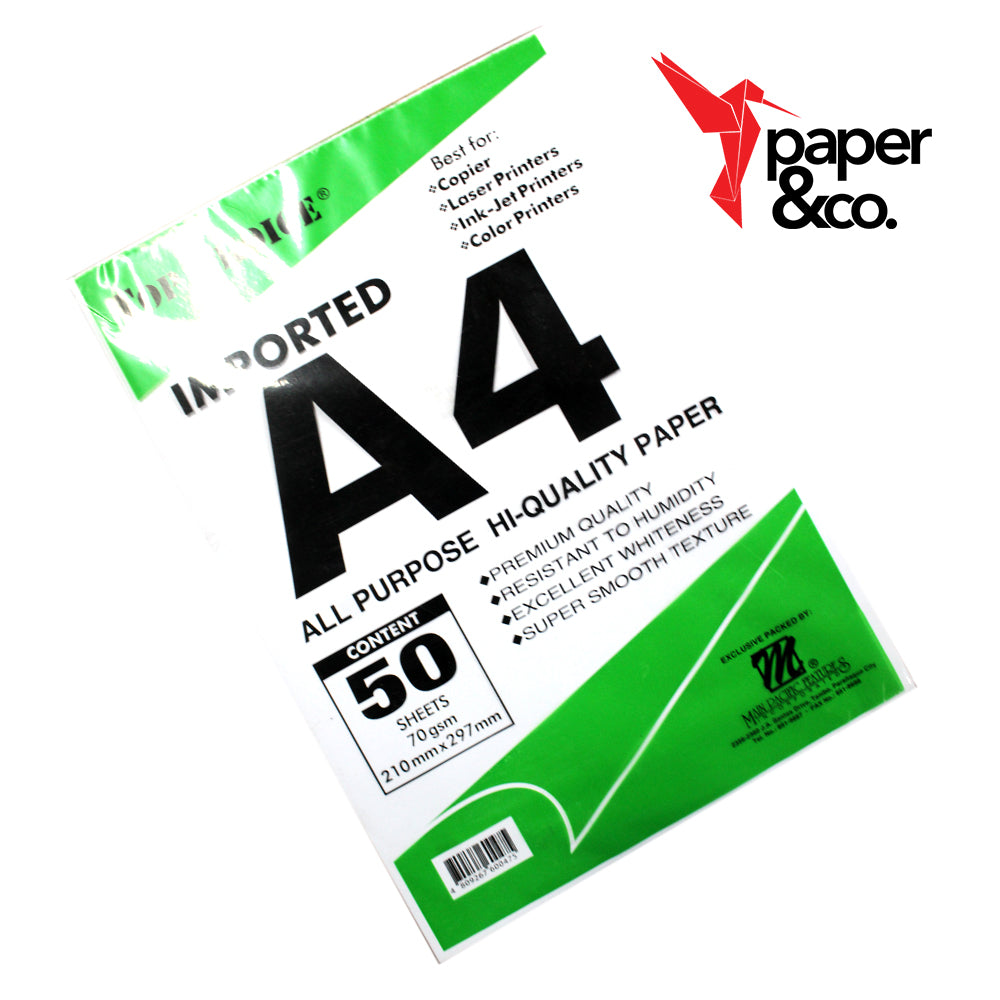 Paper&Co - Book Paper A4 50 Sheets