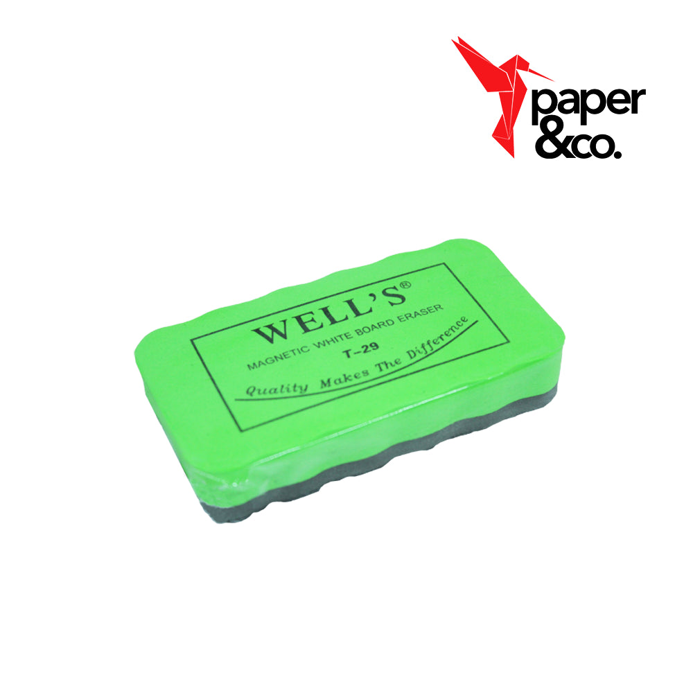 Paper&Co. - Well's Magnetic Whiteboard Eraser