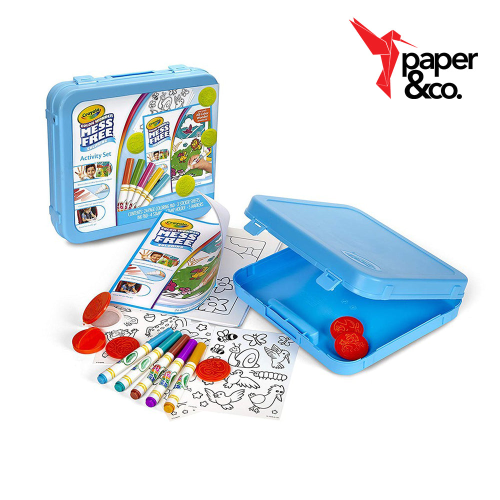 Paper&Co. - Crayola Color Wonder Activity Set Animal Theme