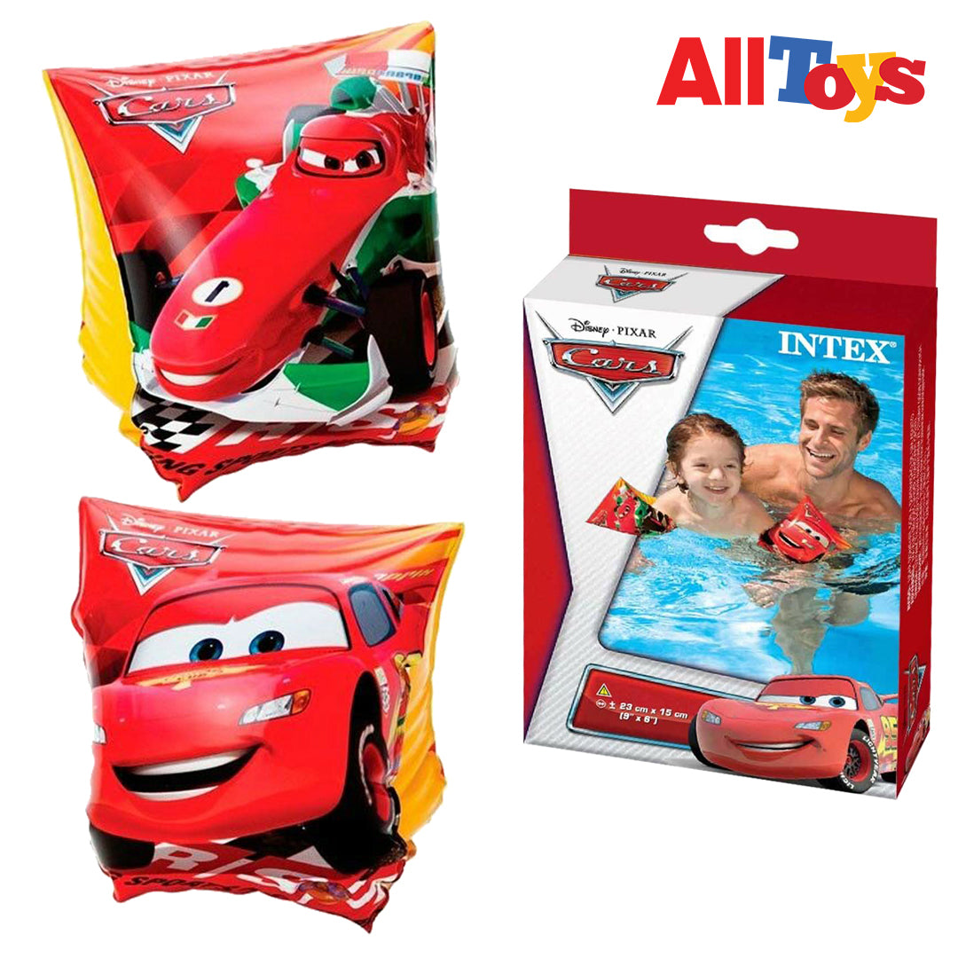 Cars Deluxe Arm Bands, Ages 3-6 (9 x 6 in)