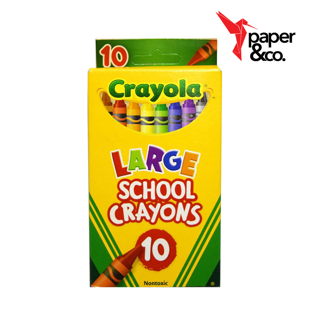 Paper&Co. - Crayola Large Crayons 10s