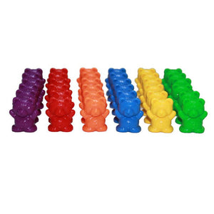 Jumbo Counting Bears with Stacking Cups