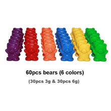 Load image into Gallery viewer, Jumbo Counting Bears with Stacking Cups