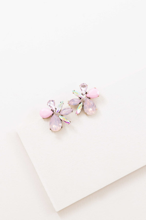Dare to Dream Shimmer Earrings | Blush