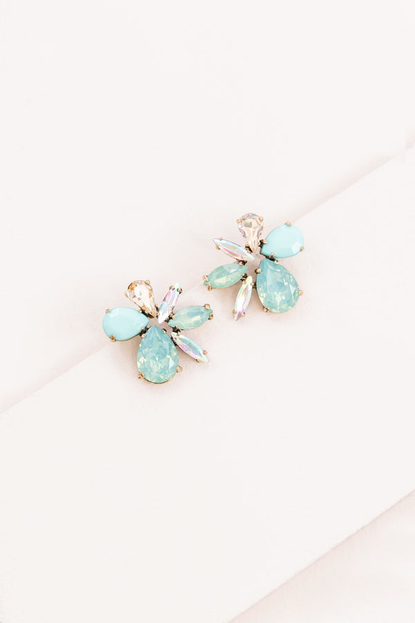 Dare to Dream Shimmer Earrings | Jade