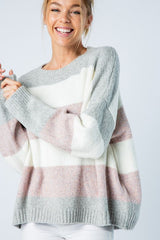 Striped Boxy Sweater