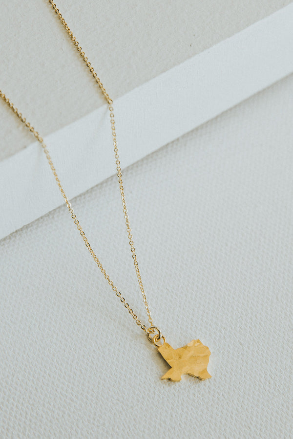 Texas Hammered Necklace