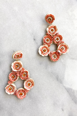 Garden Rose Earrings