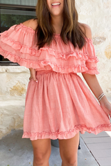 Noah Ruffled Mini Dress