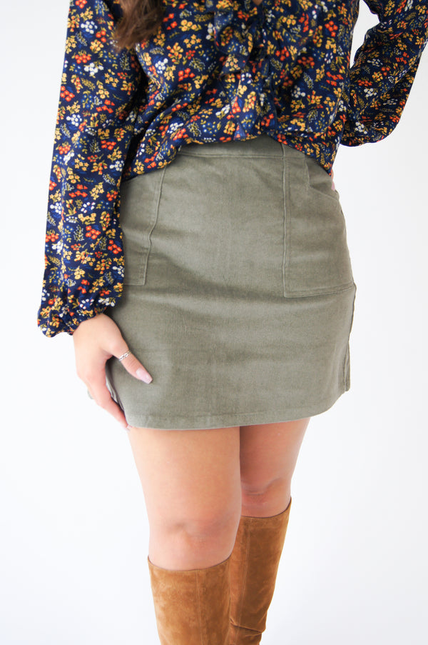 Olive This Mini Skirt