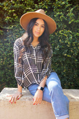 Breezy Quarter Sleeve Flannel