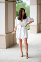 Moxie Belted Dress