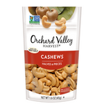 Nuts, Cashew, Halves & Pieces, Orchard Valley Harvest - 14/1.6oz