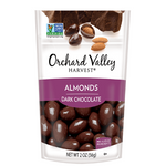 Nuts, Almond, Dark Chocolate Covered, Orchard Valley Harvest - 14/2oz
