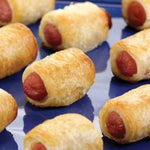 Appetizer, (Frozen) Franks in a Blanket, 100ct CS