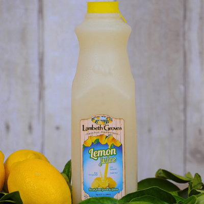 Juice, Lemon, Lambeth Groves - quart