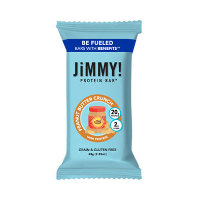 Bar, JimmyBar, Peanut Butter Crunch - 12/2.05oz
