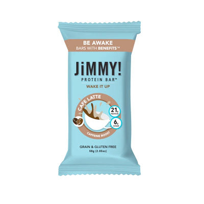 Bar, JimmyBar, Wake It Up/Cafe Latte - 12/2.05oz