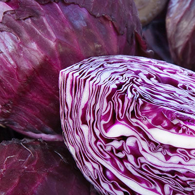 Cabbage, Red - each