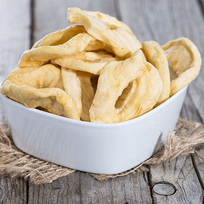 Dried, Apple Rings - 5 LB